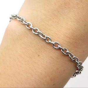 EMPORIO ARMANI Sterling Silver Designer Bracelet